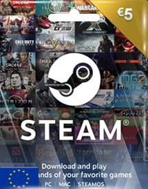 steam wallet code eur5 eu