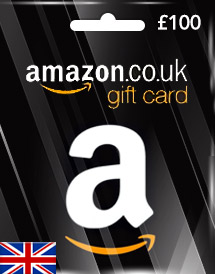 amazon gift card gbp100 uk
