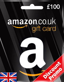 amazon gift card gbp100 uk discount promo