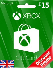 gbp15 xbox live gift card uk discount promo