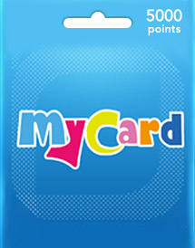 mycard 5,000 points my/tw/sea