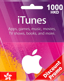 hkd1000 itunes gift card hk discount promo