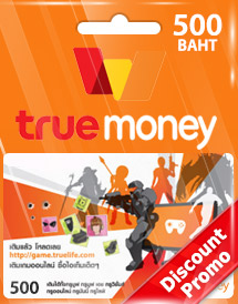 thb500 truemoney card discount promo