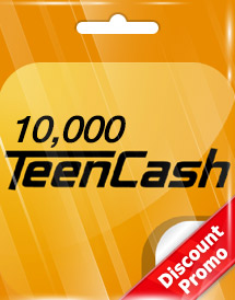10,000 teencash kr discount promo
