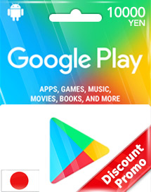 Buy Google Play Gift Card (JP) | Instant Delivery & Cheap