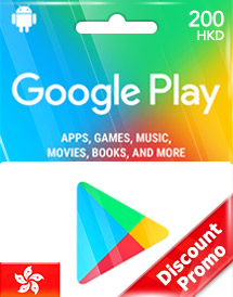 google play hkd200 gift card hk discount promo