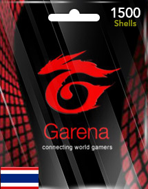 1,500 garena shells th