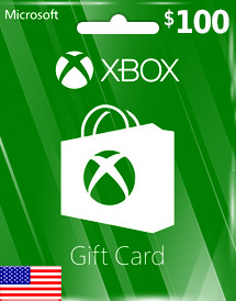 usd100 xbox live gift card us