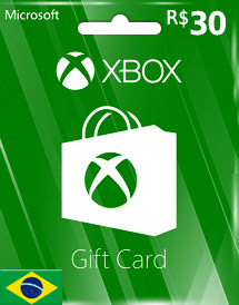 brl30 xbox live gift card br