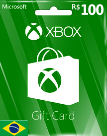 brl100 xbox live gift card br