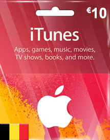 eur10 itunes gift card be