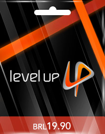brl19.90 level up! game card br