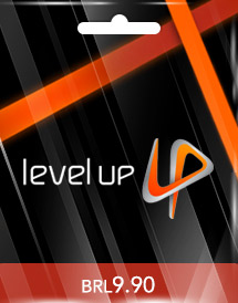 brl9.90 level up! game card br