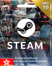 steam wallet code hkd50 hk