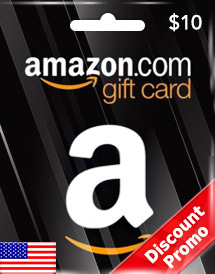 amazon gift card usd10 us discount promo