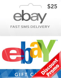 usd25 ebay gift card us discount promo
