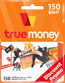 thb150 truemoney card discount promo