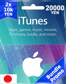 itunes gift card jp