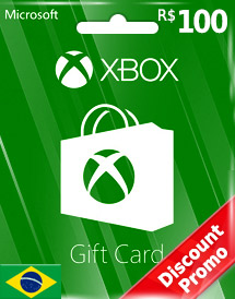 brl100 xbox live gift card br discount promotion