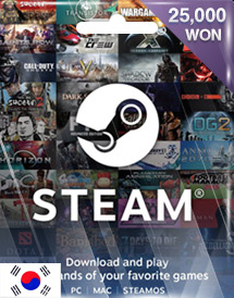 steam wallet code 25,000won kr