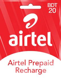 Cheap BDT20 Airtel Prepaid Recharge (BD) - OffGamers Online