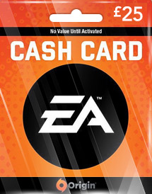 ea gbp25 cash card uk