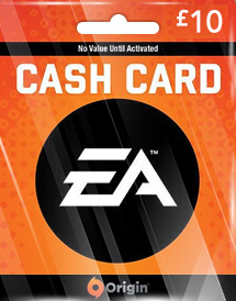 ea gbp10 cash card uk