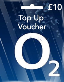 gbp10 o2 top up voucher uk