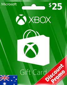 aud25 xbox live gift card au discount promo