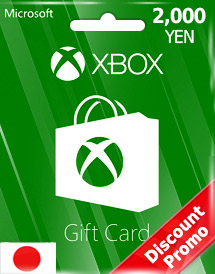 2,000yen xbox live gift card jp discount promo