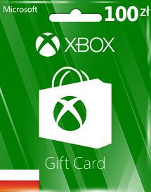 pln100 xbox live gift card pl