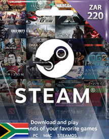 steam wallet code zar220 za