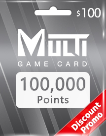 multi game card 100,000 points global discount promo
