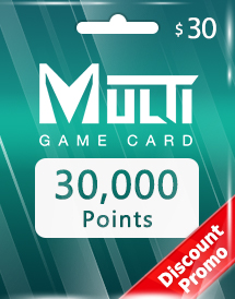multi game card 30,000 points global discount promo