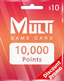 multi game card 10,000 points global discount promo