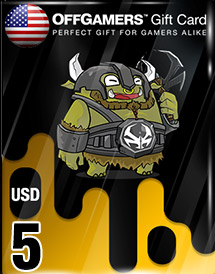 usd5 offgamers gift card us