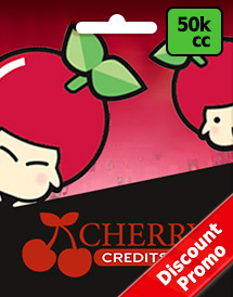 cherry credits 50,000cc global discount promo