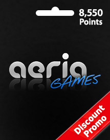 aeria games 8,550 points discount promo