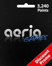 aeria games 3,240 points discount promo