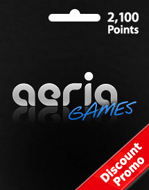 aeria games 2,100 points discount promo