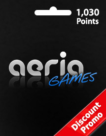 aeria games 1,030 points discount promo