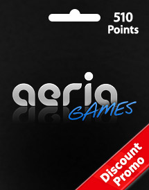 aeria games 510 points discount promo