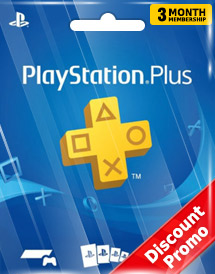 playstation plus 3 months membership sea discount promo