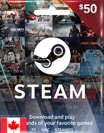 steam wallet code cad50 ca