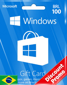 windows phone store brl100 gift card* br discount promo