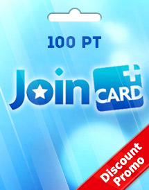 join card 100 pt discount promo