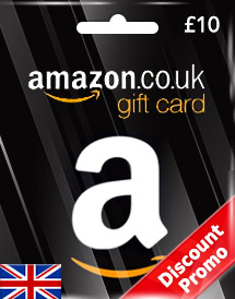 amazon gift card gbp10 uk discount promo