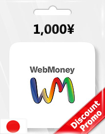 1,000yen webmoney gift card jp discount promo