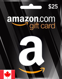 amazon gift card cad25 ca