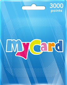 mycard 3,000 points tw